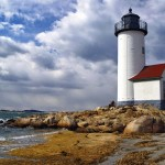 Annisquam Light in Gloucester by Rod Parker